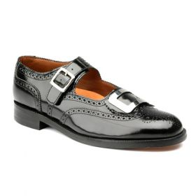 Buckle Brogues Side View