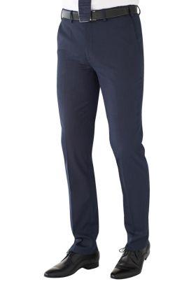 Pegasus Trousers Navy Pindot