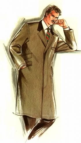 Made To Measure Overcoat Style 16